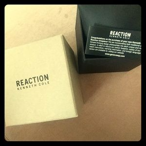 Reaction Kenneth Cole - Watch Box ⌚⌚ Brand New